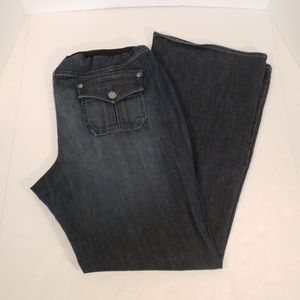 Oh Baby! By Motherhood Maternity Bootcut Jean's XL